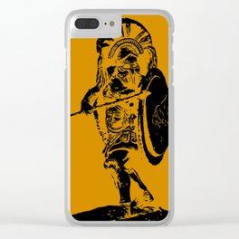 Greek Hoplite - Ancient Warfare Clear iPhone Case