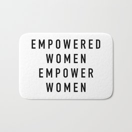 Empowered Women Bath Mat
