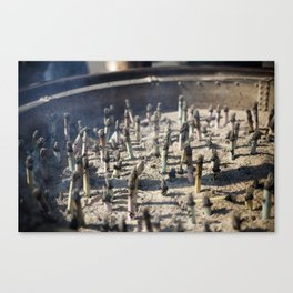 Incense Canvas Print