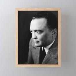 J. Edgar Hoover Portrait - 1948 Framed Mini Art Print