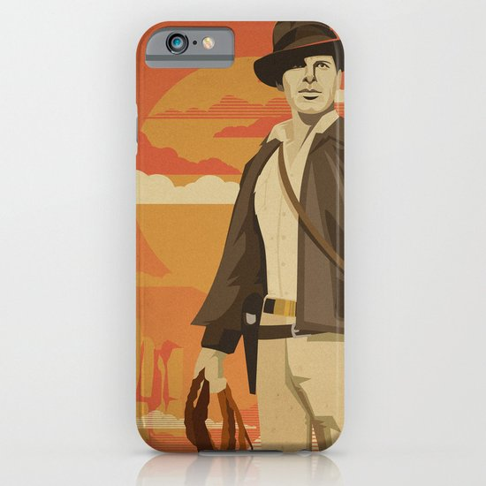 The Archeologist iPhone & iPod Case