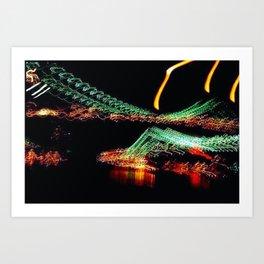 Brooklyn Night Views Art Print