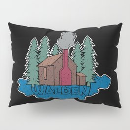 Walden - Henry David Thoreau (Coloured textured version) #society6 #decor #buyart Pillow Sham