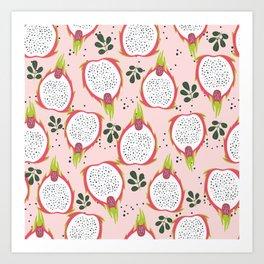 Exotic pink Art Print