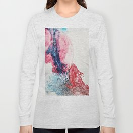 Watercolor abstract (everyday 10/365) Long Sleeve T-shirt