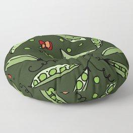 Peas! May! Floor Pillow