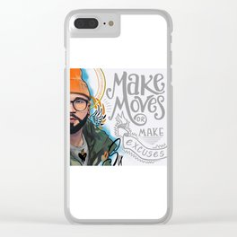 Make Moves Clear iPhone Case