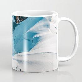 Snow Top Mountains (Color) Coffee Mug