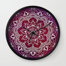 Mandala - Love Wall Clock