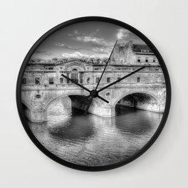 Pulteney Bridge Bath Wall Clock