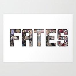 Fire Emblem: FATES Art Print