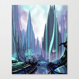 Transia City Canvas Print