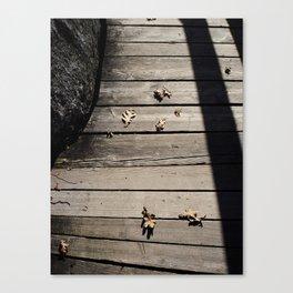 Pensive Autumn Canvas Print