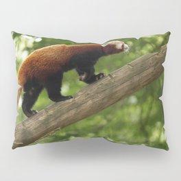 Happy Red Panda. Pillow Sham