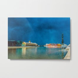 Snow Showers Over Moscow Metal Print