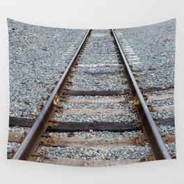 Railroad Tracks Wall Tapestry