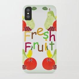 Fresh Fruit Green iPhone Case