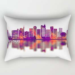 Port Louis Mauritius Skyline Rectangular Pillow