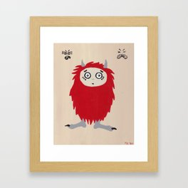 Little Monsters - Good Monster Framed Art Print