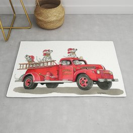 No Siren Required Rug