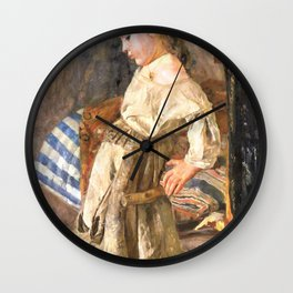 The poor child - Digital Remastered Edition Wall Clock
