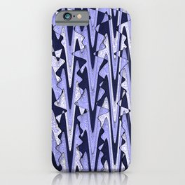 Abstract Iceberg Pattern iPhone Case