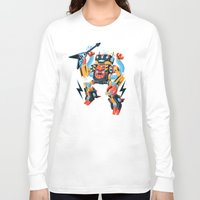 metal Long Sleeve T-shirts featuring Death Metal by Brian Walline