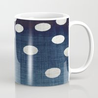 indigo Mugs featuring Indigo by Good Sense