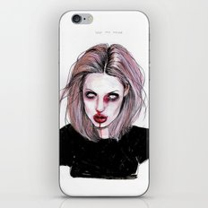 Angelina J iPhone & iPod Skin