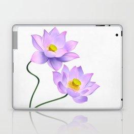 Thamarai, Yellow Flower, Floral Pattern, Yellow Blossom Laptop & iPad Skin