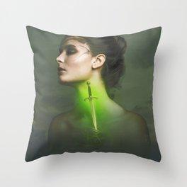 Angor Throw Pillow