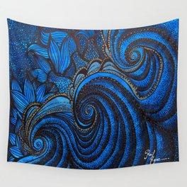The  Sea Mermeids Night Wall Tapestry