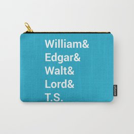 Poet Names Carry-All Pouch