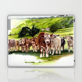 Herd It Throught the Grapevine Laptop & iPad Skin
