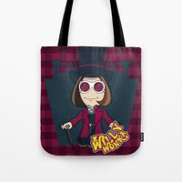 willy wonka Tote Bags featuring Willy Wonka by 7pk2 online