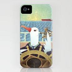 A-Z Animal, Albatross Quartermaster - Illustration Slim Case iPhone (4, 4s)