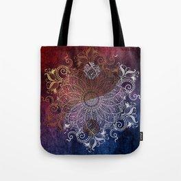 Mandala - Fire & Ice, yang version Tote Bag