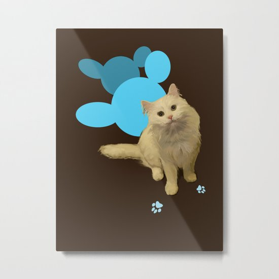 Sweet cat Metal Print