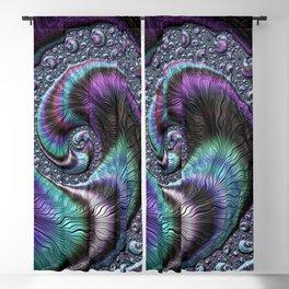 Fractal Art-Abalone Blackout Curtain