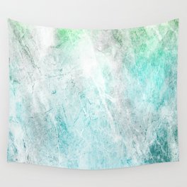Mint Green Abstract Wall Tapestry