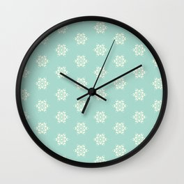 Sea Salt Seamless Design 1 Wall Clock