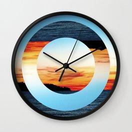 Decoy Geometry Wall Clock