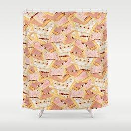Poptart Gainz Shower Curtain