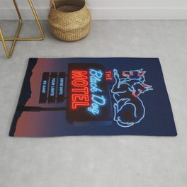 The Black Dog Motel Rug