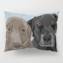 Two Labradors Pillow Sham