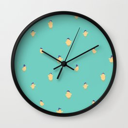 Chicks with Hats Wall Clock