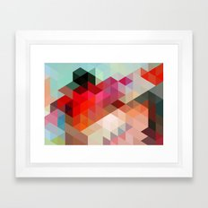 Heavy Words - City 02. Framed Art Print