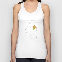blackhawks Tank Tops featuring Stop Hjammer Time by fohkat