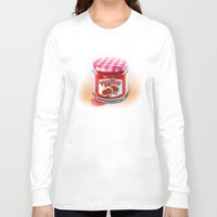 fig Long Sleeve T-shirts featuring FIG JAM by Vin Zzep