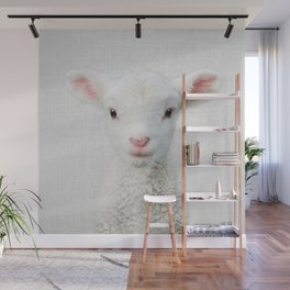 Lamb - Colorful Wall Mural